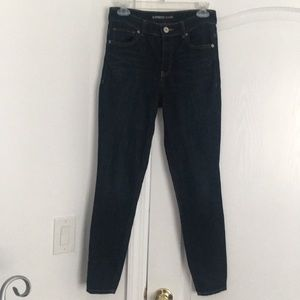 EXPRESS High Rise Legging Jeans- Size 4 Short